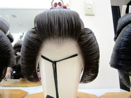 結髪師による花嫁かつら