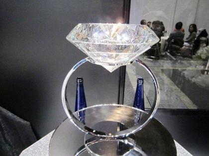 big-diamond 大きなダイアモンド ブライダル産業フェア